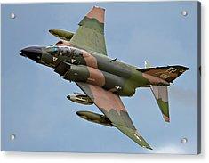 F-4 Phantom II Acrylic Print by Bill Lindsay
