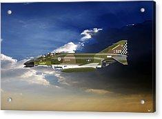 F-4c Phantom Acrylic Print by Arthur Eggers