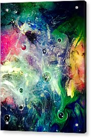 F001 Acrylic Print by Billy Roberts