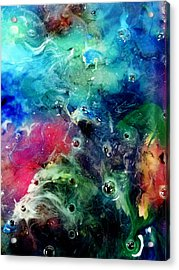 F002 Acrylic Print by Billy Roberts