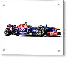 F1 Red Bull Rb9 Acrylic Print