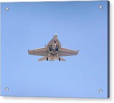 Fa-18ef Super Hornet Acrylic Print by Amy Ernst
