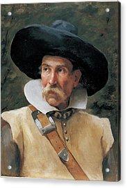Fabbri Paolo Egisto, Portrait Of A Man Acrylic Print by Everett