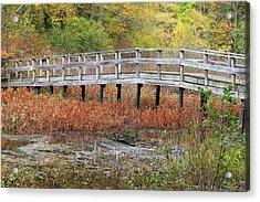 Fable Bridge Acrylic Print