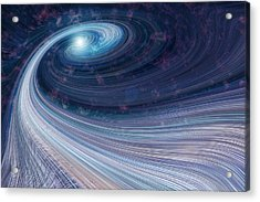 Fabric Of Space Acrylic Print