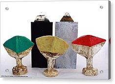Fabulas Humanum Collectors Set Acrylic Print by Mark M  Mellon
