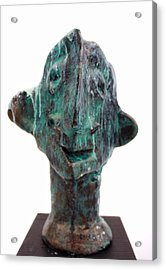 Fabulas Shipwrecked Idol Acrylic Print by Mark M  Mellon