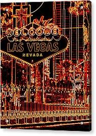 Fabulous Las Vegas Acrylic Print