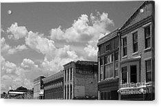 Facade In Missouri  Acrylic Print by Sean Hughes