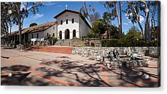 Facade Of A Church, Mission San Luis Acrylic Print by Panoramic Images