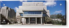 Facade Of A Library, State Library Acrylic Print