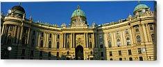 Facade Of A Palace, Hofburg Palace Acrylic Print by Panoramic Images