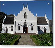 Facade Of Dutch Reformed Church Acrylic Print