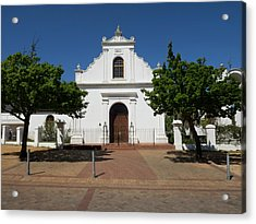 Facade Of Rhenish Mission Church Acrylic Print by Panoramic Images