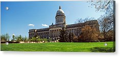 Facade Of State Capitol Building Acrylic Print