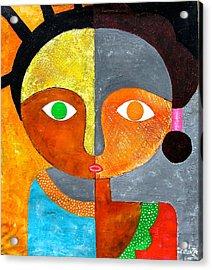 Face 2 Acrylic Print