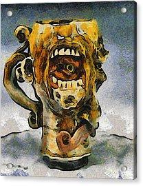 Face Mug By Face Jug  Acrylic Print