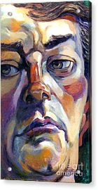 Face Of A Man Acrylic Print by Stan Esson