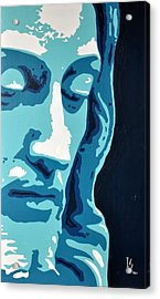 Face Of Greatness  Acrylic Print by Ivan Guaderrama