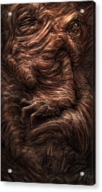 Face Of The Beast Acrylic Print by Ethan Harris