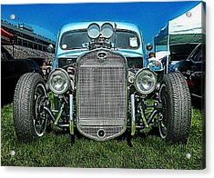 Face Of The Rat Rod Acrylic Print