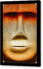 Face Off 001 Acrylic Print by Kevin Chippindall
