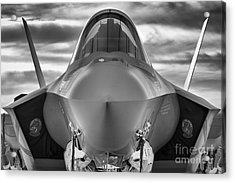 Face To Face With Stealth Acrylic Print