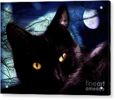 Acrylic Print featuring the digital art Face Your Fears  by Mindy Bench