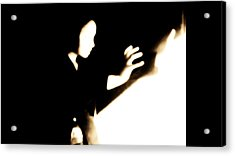 Acrylic Print featuring the photograph Faceless Magician  by Jessica Shelton