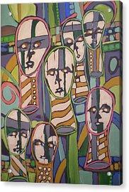 __soldfaces #2 Acrylic Print