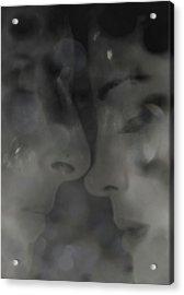 Faces Acrylic Print by Li   van Saathoff