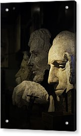 Faces Of Rushmore Acrylic Print