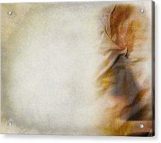 Facing Away Acrylic Print by Empty Wall