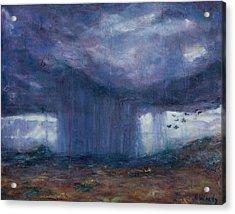 Facing The Storm Acrylic Print