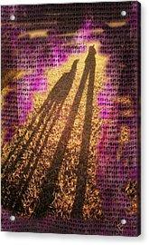 Facing The Sun Acrylic Print by Ernestine Manowarda
