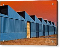 Factory Building Acrylic Print