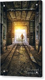 Factory Chase Acrylic Print