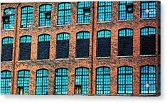 Factory Windows Acrylic Print