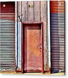 Faded Door Acrylic Print
