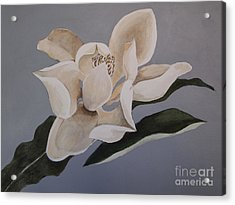 Acrylic Print featuring the painting Faded Glory by Nancy Kane Chapman
