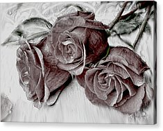 Faded Love Acrylic Print