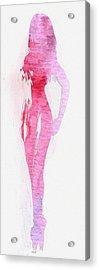 Fading Beauty Acrylic Print