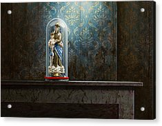 Fading Glory Acrylic Print by Mark Van crombrugge