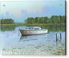 Acrylic Print featuring the painting Fading Memories by Mike Brown