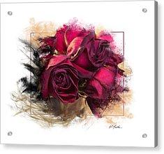 Fading Roses Acrylic Print