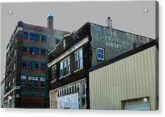 Fading Salvation Acrylic Print by Lin Haring