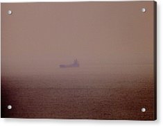 Fading Spector Of The Straits Acrylic Print