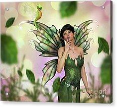 Fae Spring Acrylic Print