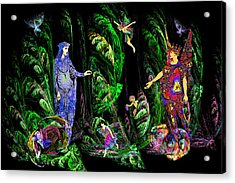 Faery Forest Acrylic Print