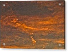 Faint Clouds Acrylic Print by Marquis Crumpton
